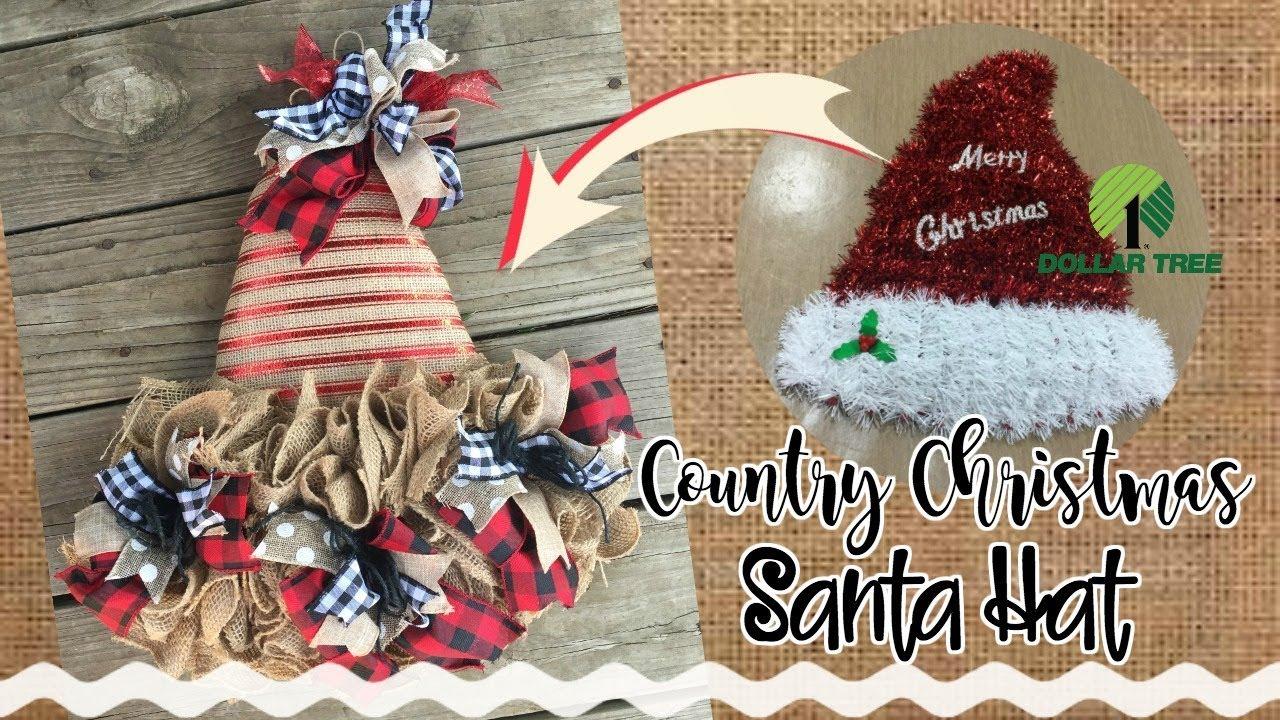cd734f95c9e46 DOLLAR TREE Santa Hat