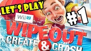 Let's Play Wipeout: Create and Crash pt.1 - Second Helpings - 4 Player WiiU Co-Op(Hey guys, Lexi played this at a play date recently and she suggested that we get it and play as a family... so.. What do you think. Is this a game we should have a ..., 2014-01-04T21:48:16.000Z)