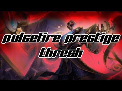 Pulsefire Thresh Prestige (Gameplay) League of Legends