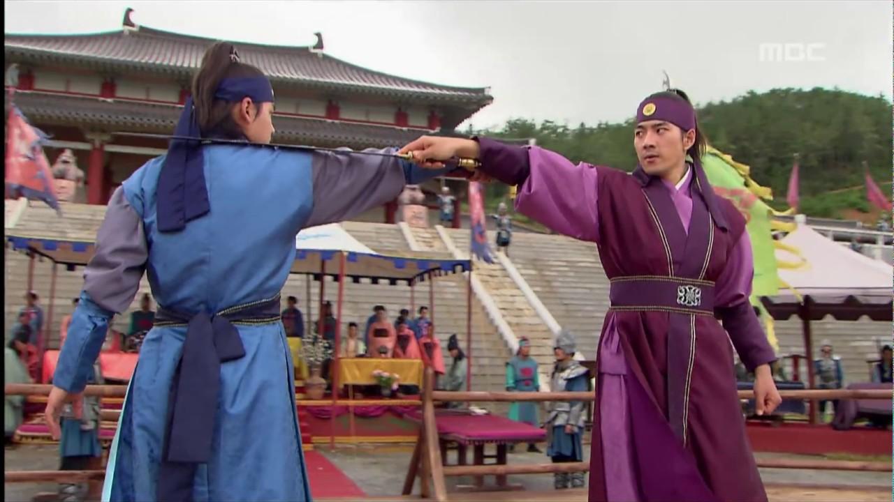 Download [고구려 사극판타지] 주몽 Jumong 검술 대결, 주몽의 실력에 놀란 사람들