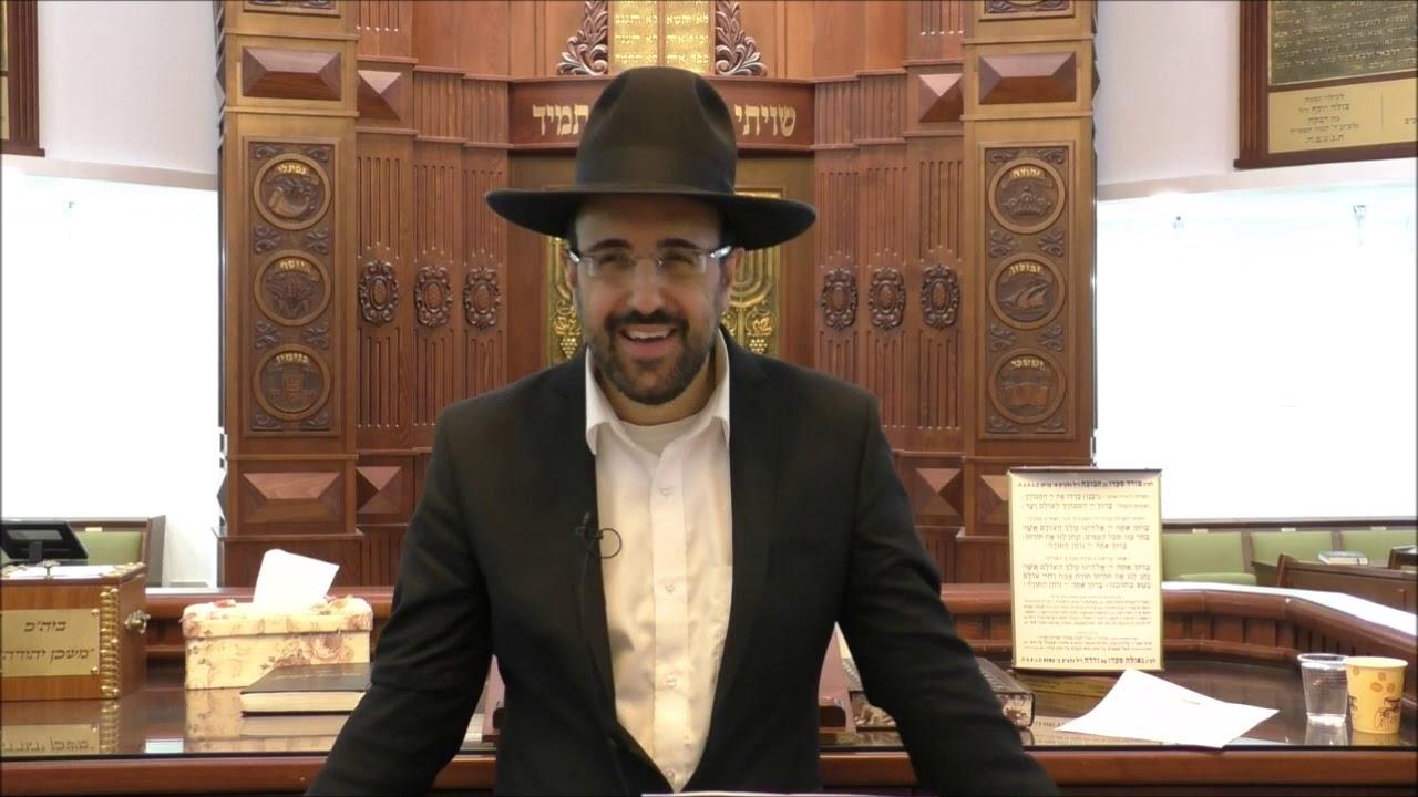 """הרב מאיר אליהו שליט""""א - פער גילאים בשידוכים - משכן יהודה - קדושים תשע""""ט"""