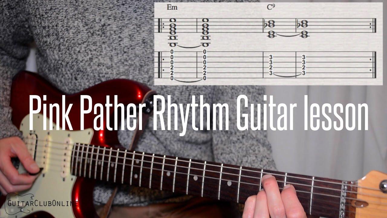 pink panther guitar tab pdf
