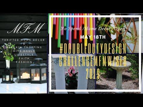 #DoubleDutyDesignChallengeMFMw/SFB2019-Spring Challenge/May 18th, 9AM/No Spend, Open
