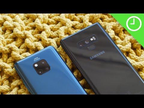 Huawei Mate 20 Pro vs Note 9 camera test