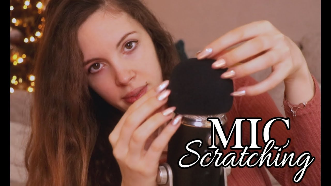 ASMR Rough Mic Scratching With Acrylic Nails