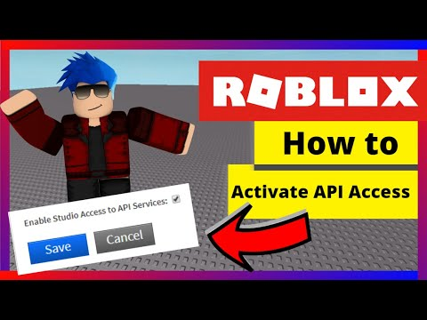 Roblox Enable Studio Access To Api Services How To Enable Api Services In Roblox 2020 Youtube