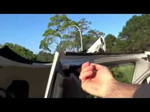 How to Fix a rattle in a Convertible Roof