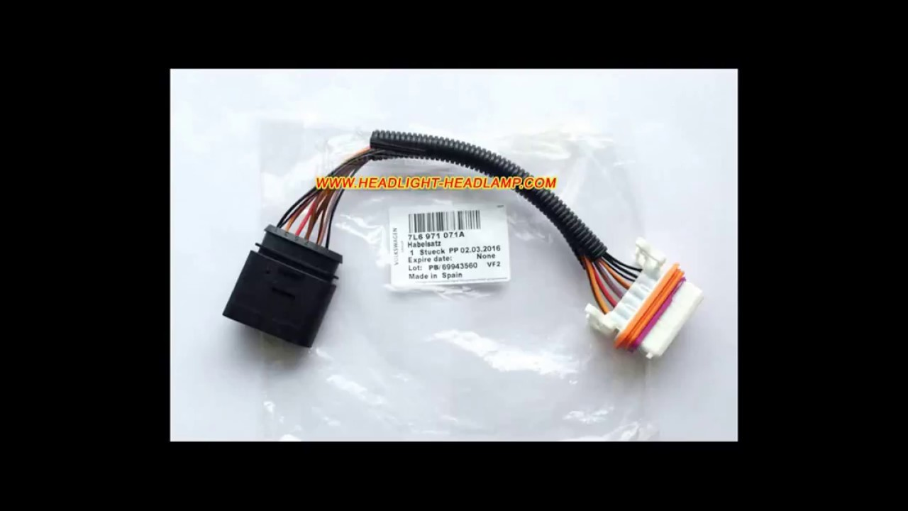 Vw Touareg Wire Harness Opinions About Wiring Diagram 2004 Passat Fuse Volkswagen Halogen Upgrade To Hid Bi Xenon Headlight Rh Youtube Com