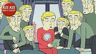 Je vais sortir pour les Cigarettes (bande-annonce) - court-métrage d'Animation par Osman Cerfon