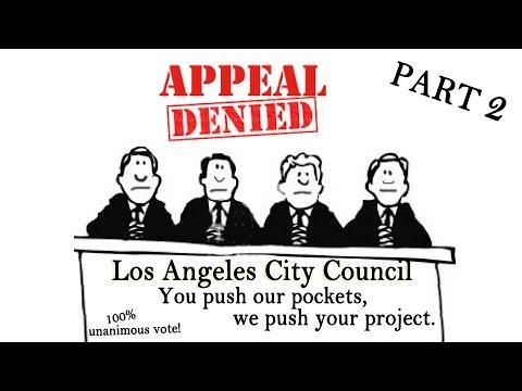 Los Angeles City Council Hearing - November 8, 2016 - Part 2