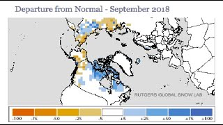 GSM Update 10/30/18 - All Time Record Snow Cover - Global Seismic Unrest - Taupo - NASA Solar Probes