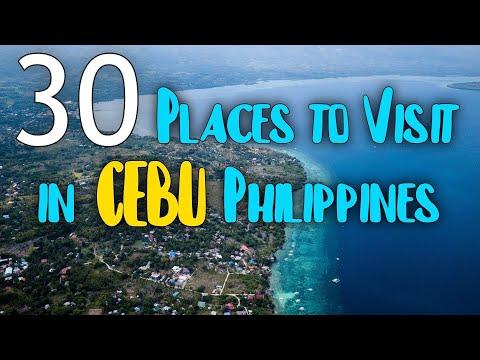 30 TOURIST ATTRACTIONS IN CEBU | Cebu Philippines Best Place