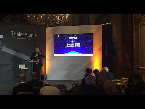 Thales Alenia Space launches its new gamechanger technology for telecom communications