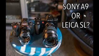 The Sony A9 vs Leica SL? My Take. Which is the best premium mirrorless camera?