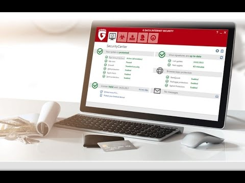 Обзор G Data Internet Security 2017.