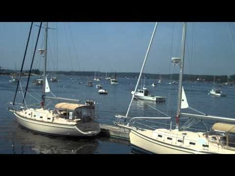 Boothbay Harbor Hotel Capn Fishs Waterfront Inn View