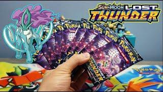 Lost Thunder Pokemon Booster Box ALL Blacephalon Packs Opening!