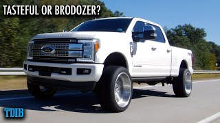 550HP POWERSTROKE F350 Review! Tasteful or Diesel Brodozer?