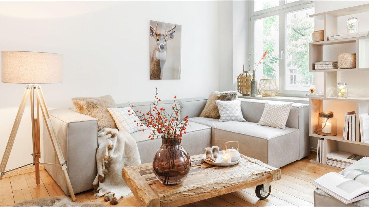 Уютный Интерьер  -  Красивый Дизайн в Скандинавском Стиле