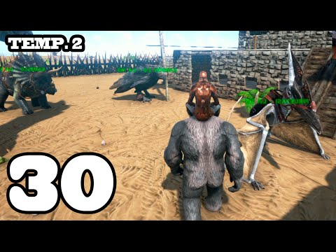 T-REX EN LA NOCHE!! ARK: Survival Evolved #30 Temporada 2