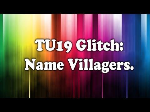 Minecraft Xbox 360: Name Villagers in TU19 Glitch!