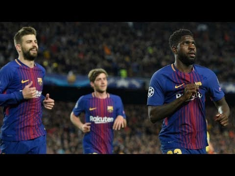 Barcelona vs roma [4-1], champions league, quarter-final, 2018 - match review