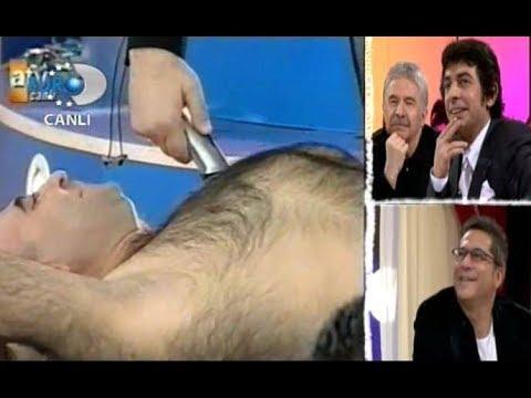 Mehmet Ali Erbil, Jess'in tüm vücut kılların tıraş ediyor - 2006