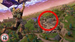 Top 10 Best Loot Spots In Fortnite