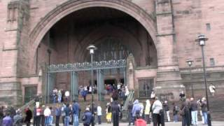 Liverpool Cathedral Bells Play Lennon