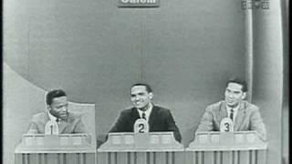 "Hank Ballard on ""To Tell the Truth"" (November 13, 1961)"