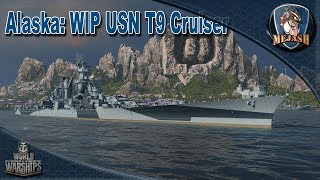 World of Warships: USS Alaska, Strong if you know what youre doing! WIP Battlecruiser