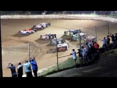 Late Model Feature @ Wartburg Speedway (5-20-17)