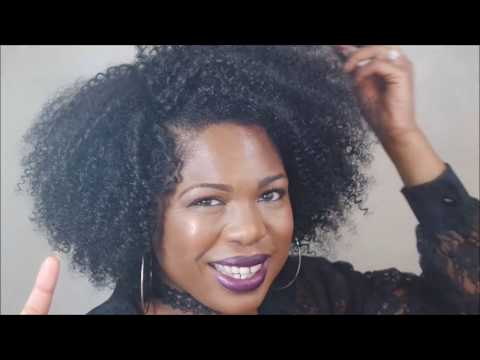 My Curls Are Poppin||Zury's Sis Wig||Naturali Star||4B Jen