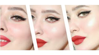 طريقة رسم الايلاينر ك المحترفين ب تريكات سهله وبسيطة how to apply eyeliner like a pro!
