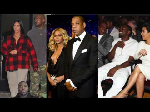 "Jay Z, Beyonce Call Meeting With Kanye West & Kim Kardashian For An ""Awkward"" Meeting To Discuss YE"