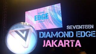 Video VLOG SEVENTEEN 1st WORLD TOUR DIAMOND EDGE IN JAKARTA + FANCAM download MP3, 3GP, MP4, WEBM, AVI, FLV April 2018
