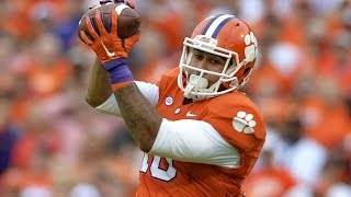 Jordan Leggett (Clemson TE) vs South Carolina 2015