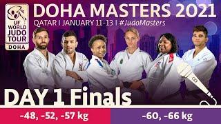 Day 1 - Finals: Doha World Judo Masters 2021