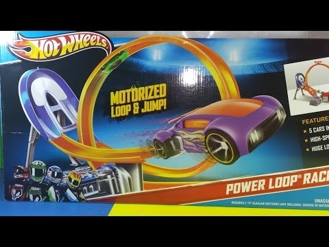 Hot Wheel Motorized Power Loop and Jump