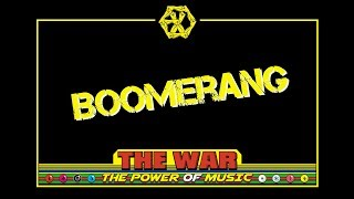 EXO (엑소) | Boomerang (爱 回旋) [chinese/pinyin/english lyrics]
