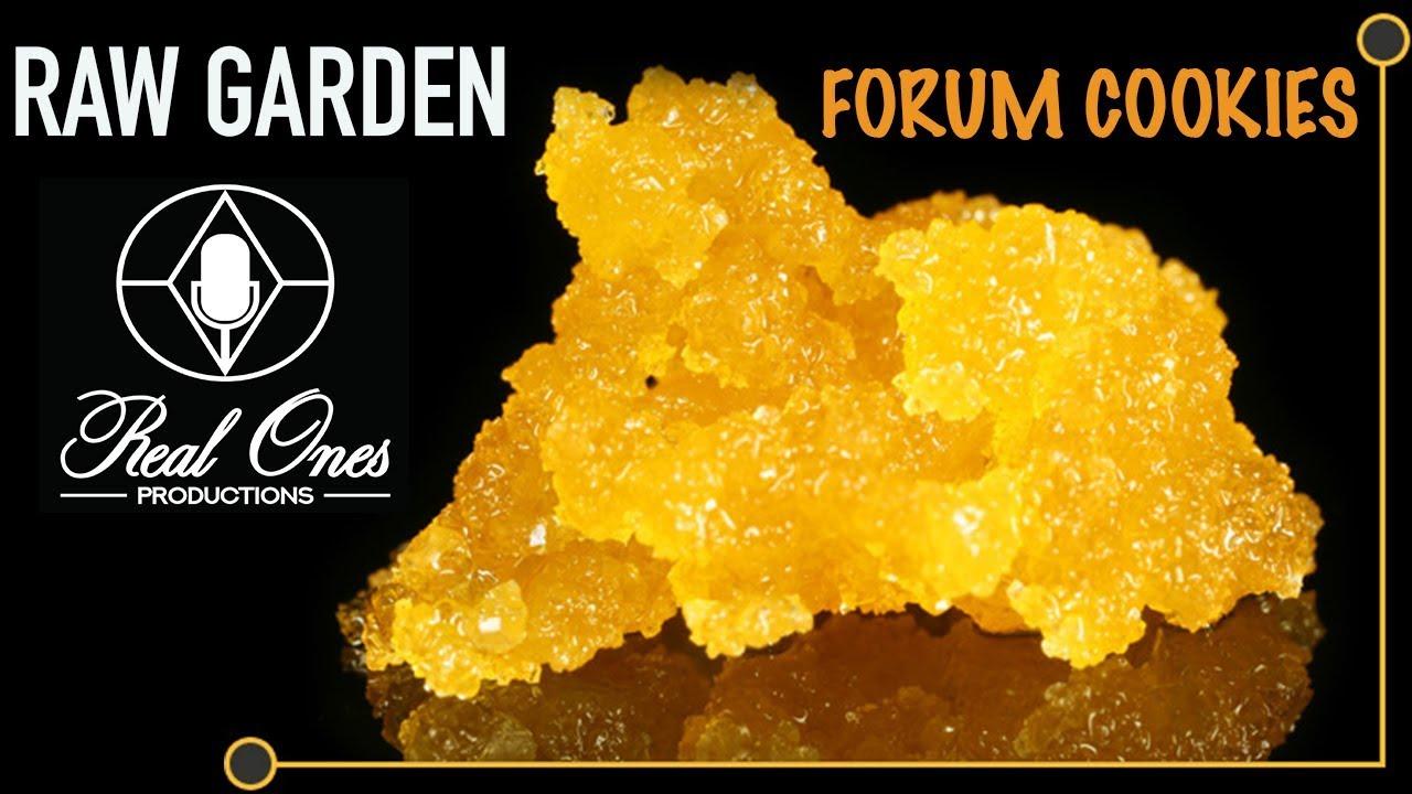 Raw Garden FORUM COOKIES Live Resin Review