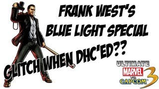 Frank West Blue Light Special Glitch