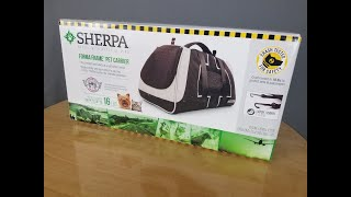Review: Sherpa Forma Frame Pet Carrier from Worldwise
