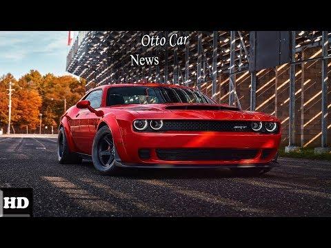 Hot News !! 2018 Dodge Challenger SRT Demon – The Fastest Muscle Car spec & price