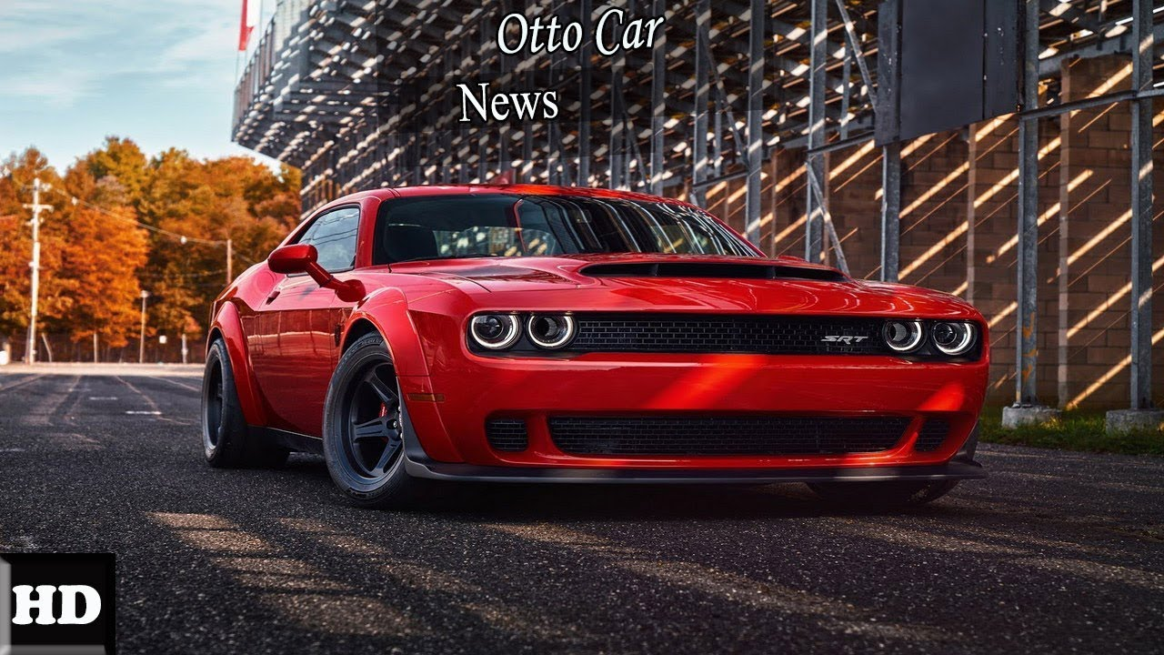 Hot News !! 2018 Dodge Challenger SRT Demon – The Fastest Muscle Car ...