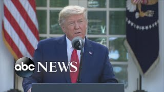 'Challenging times' ahead: President Trump