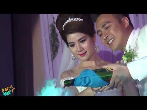 [8VBIZ] - Kha Ly rơi nước mắt trong đám cưới bên Thanh Duy