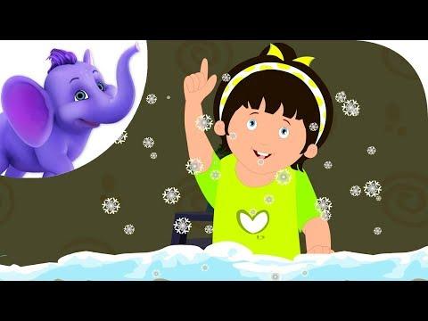 White Cold Flowers - Nursery Rhyme with Karaoke Version