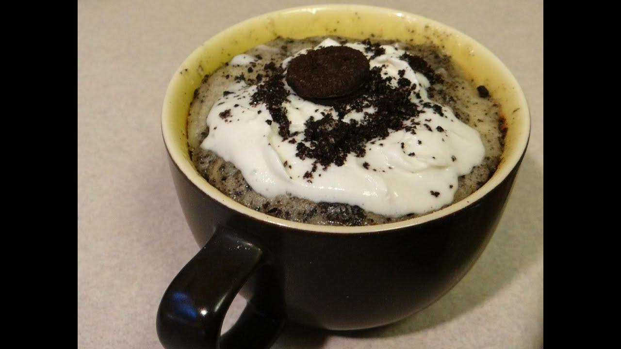 Cookies and Cream Mug Cake - YouTube