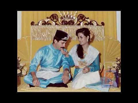 Raja Zarith Sofiah & Sultan Ibrahim Royal Wedding 10th Sept 1983